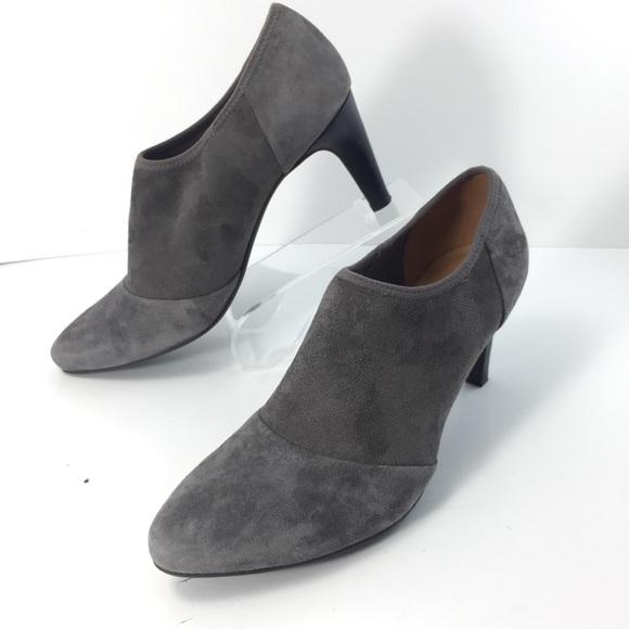 3ed84ce2398c1 Ecco Shoes | Alicante Shootie Suede Ankle Boots Sz 8b | Poshmark